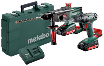 Combo Set 2.3.2 18 V METABO BS 18 + KHA 18…