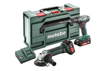 Metabo Akumulátorové stroje v sadě Combo Set -…