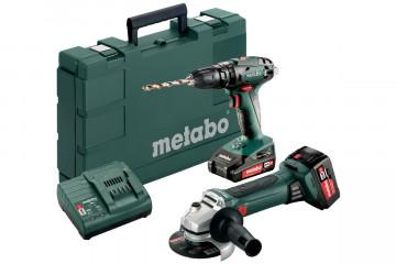 Metabo Combo Set 2.4.4 18 V  (685089000) Akumulátorové stroje v sadě