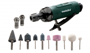 Vzduchová přímá bruska METABO DG 25 Set 604116500