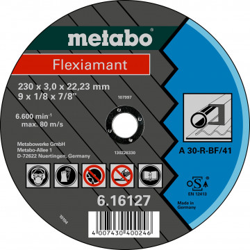 Metabo Flexiamant 115x2,5x22,23 ocel, TF 42