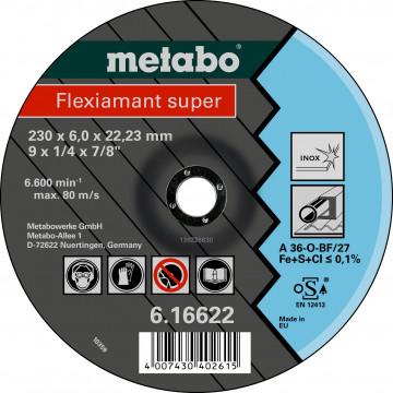 METABO - Flexiamant super 115x6,0x22,23 Inox, SF 27 - 616739000