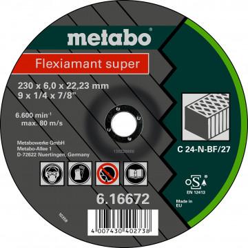 METABO - Flexiamant super 125x6,0x22,23 kámen, SF 27 - 616731000