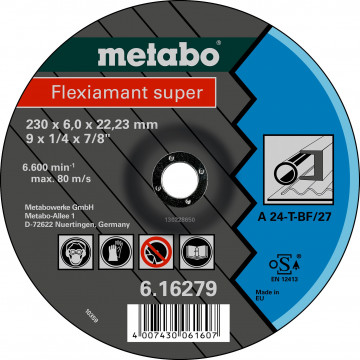 METABO - Flexiamant  125x6,0x22,23 ocel, SF 27 - 616486000
