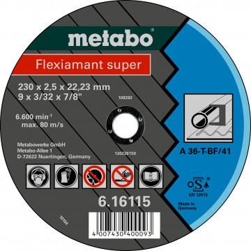 Metabo - Fleximant super 230X2,5X22,23 ocel, TF 41 (616115000)