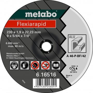 METABO - FLEXIARAPID 115 X 1,0 X 22,23 MM, HLINÍK, TF 41 - 616512000
