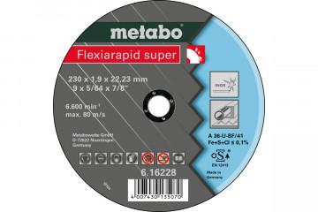 METABO - FLEXIARAPID SUPER 230X1,9X22,23 INOX, TF 41 (616228000)