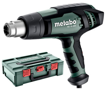 Metabo HG 16-500 Horkovzdušná pistole + Metabox 601067500
