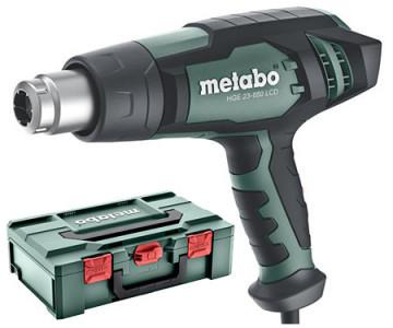 Metabo HGE 23-650 LCD Horkovzdušná pistole +…