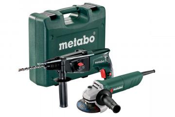 METABO KHE 2444 + W 750-125 Set (690929000) Síťové přístroje v sadě