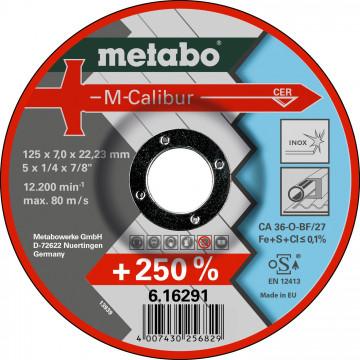 METABO - M-CALIBUR 115 X 7,0 X 22,23 INOX, SF 27 (616290000)