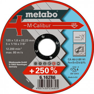 Metabo M-Calibur 125 x 1,6 x 22,23 Inox, TF 41