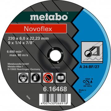 METABO - NOVOFLEX 125X6,0X22,23 OCEL, SF 27 -  616462000