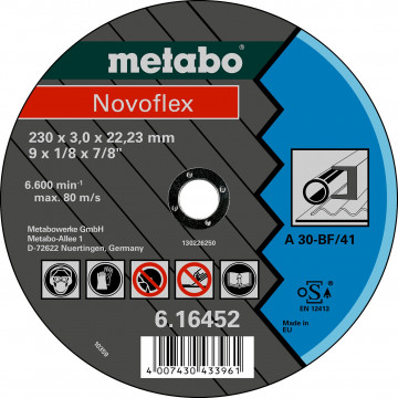 METABO - NOVOFLEX 150X3,0X22,23 OCEL, TF 41 (616448000)
