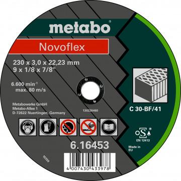 METABO - NOVOFLEX 230X3,0X22,23 KÁMEN, TF 41 (616453000)