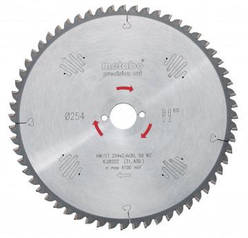 METABO - Pilový kotouč HW/CT 220x30, 48 SVZ 10°