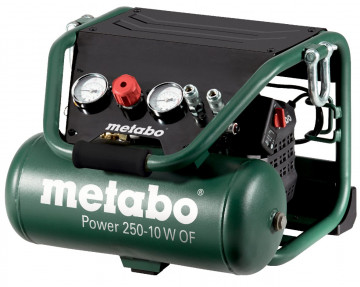 METABO Kompresor bezolejový Power 250-10 W OF…