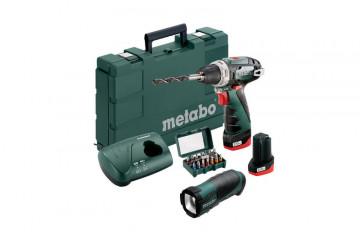 Metabo  PowerMaxx BS Basic Set (600080930) Akumulátorový vrtací šroubovák