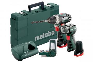 METABO PowerMaxx BS Basic Set (600080530) akumulátorový vrtací šroubovák