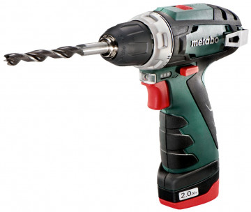 METABO Aku šroubovák PowerMaxx BS Basic 2x2,0Ah 600080500