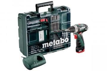 Aku šroubovák METABO PowerMaxxBSMD 1x2,0Ah 600079880