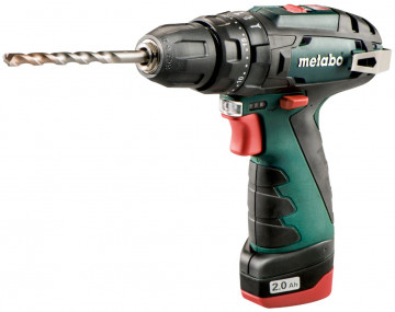 Aku příklepový šroubovák METABO PowerMaxxSB Basic 2x2,0Ah 600385500