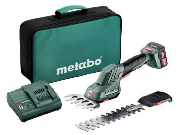 Metabo POWERMAXX SGS 12 Q Akumulátorové nůžky na trávu a keře (1 x 2,0 Ah, SC 30, taška) 601608500