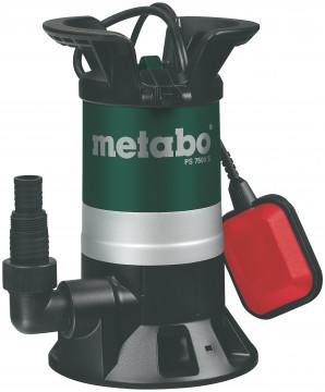 Ponorné čerpadlo znečištěných vod METABO PS 7500…