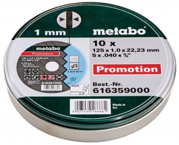METABO - Řezný kotouč Promotion 125x1,0x22,23 Inox, TF 41