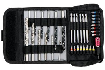 """Metabo Rolovací taška na bity a vrtáky """"SP"""", 35dílná 626725000"""