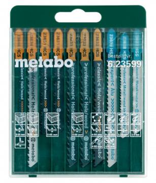 """Metabo Sada plátků pro přímočaré pily """"Promotion"""",10dílná"""