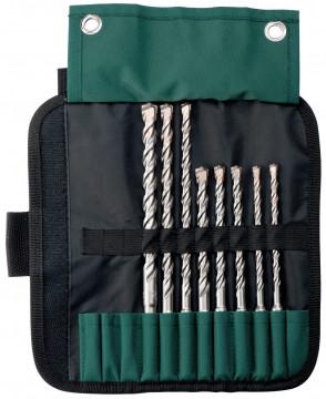 METABO - SDS-Plus Pro 4 rolovací taška, 8dílná…