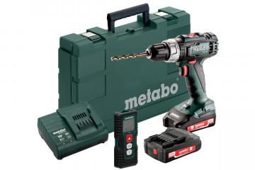 Metabo Set BS 18 L (691061000) akumulátorový vrtací šroubovák