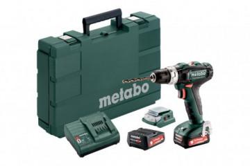 Metabo Set PowerMaxx SB 12 (601076910) Akumulátorová příklepová vrtačka