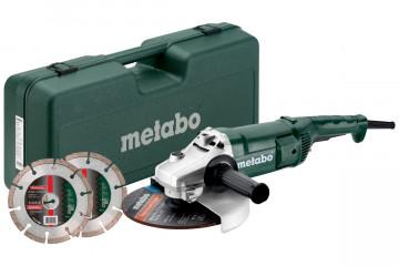 Metabo SET WEP 2200-230 Sada úhlové brusky 691082000