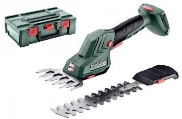 Metabo SGS 18 LTX Q Akumulátorové nůžky na trávu a keře (metaBOX 145 L) 601609840