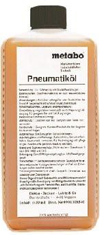 METABO - Speciální olej 0,5 l pro pneumatické…