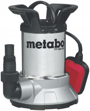 Metabo TPF 6600 SN Ponorné čerpadlo s plochým…
