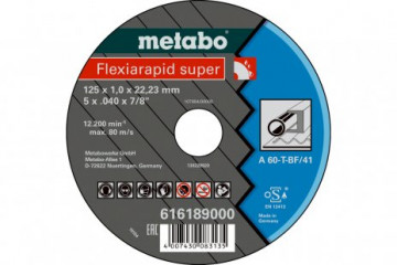 METABO - FLEXIARAPID SUPER 115X1,6X22,23 OCEL, TF 41 (616191000)