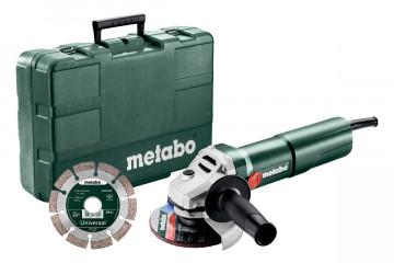 Metabo W 1100-125 Set Úhlová bruska 603614510