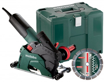 Metabo Úhlová bruska W 12-125 HD Set CED Plus