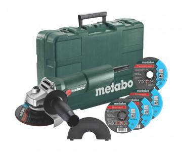 Metabo W 750-125 úhlová bruska - set 603605680