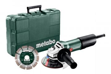 Metabo W 850-125 Set úhlová bruska 603608510