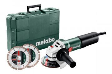 Metabo WEQ 1400-125 SET Úhlová bruska 600347510