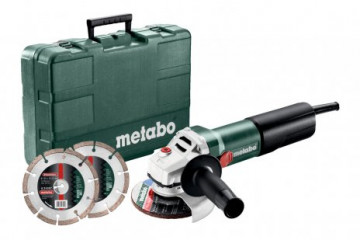 Metabo WQ 1100-125 Set (610035510) Úhlová bruska