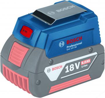 Nabíječka USB 1x 1,2A + 1x 2,4A BOSCH GAA 18V-24 PROFESSIONAL 1600A00J61