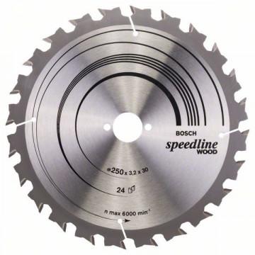 Bosch Pílový kotúč Speedline Wood 2608640680