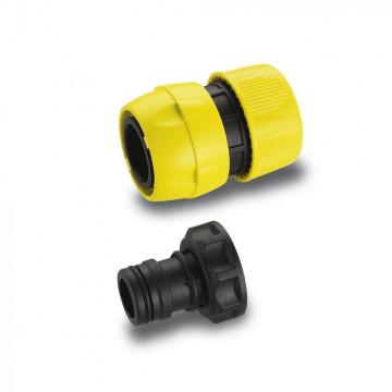 KARCHER Připojovací sada  Premium pro připojení  3/4 coulových hadice k čerpadlům s 33,3 mm (G1) vnějším závitem, pro zvýšený průtok vody 69973400