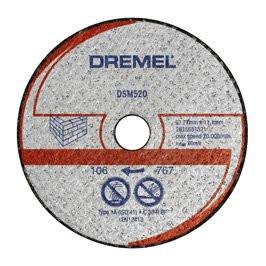 77mm dělicí kotouč - zdivo DREMEL DSM520…