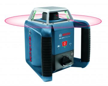 Stavební rotační laser + stativ + měřicí lať BOSCH GRL 400 H set + BT 170 + GR 240 061599403U